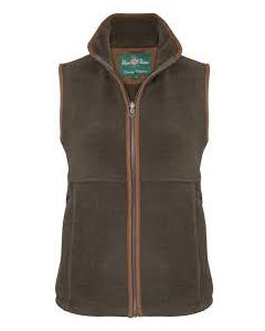 Alan Paine Aylsham Ladies Fleece Gilet. Olive