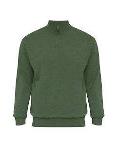 Alan Paine Wilshaw Half zip Sweater with Wind Block
