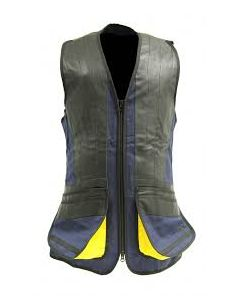 GMK Clay Shooting Skeet Vest Navy / Gold