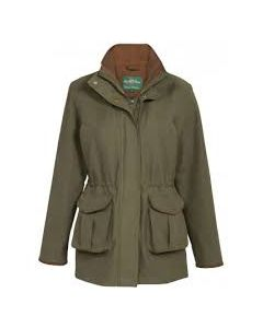 Alan Paine. Berwick Ladies Waterproof Coat. Olive