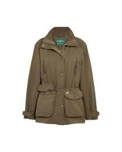 Alan Paine. Ladies Dunswell Waterproof Coat. Olive