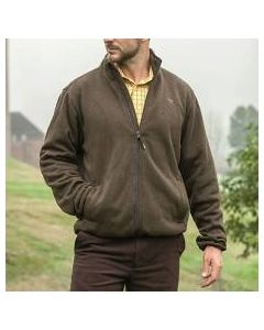 Hoggs of Fife, Kelso Prestige Knitted Jacket. Green