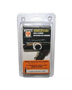 Hoppes BoreSnake Rifle Pull-through cleaner.