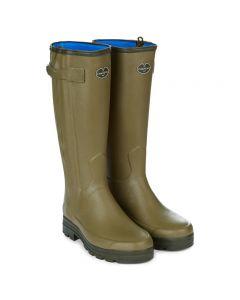 Le Chameau Chasseur Neo full zip 44cm calf Wellington boot