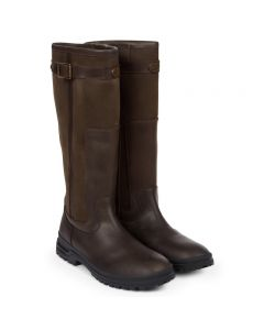 Le Chameau Jameson leather wide fit boot